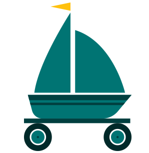 Transporte terrestre para embarcações com até 30 pés de comprimento
