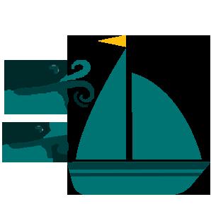 Participação em regatas a vela